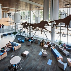 Charger Union at The University of Alabama at Huntsville provides dynamic social spaces.
