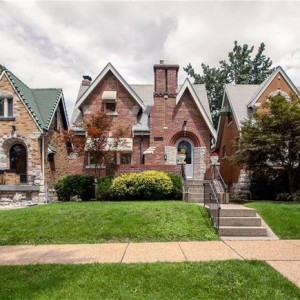The neighborhood boasts some of the best residential architecture in St. Louis.