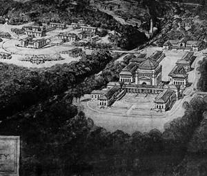 Hornbostel's Campus Plan, photo courtesy of Emory University