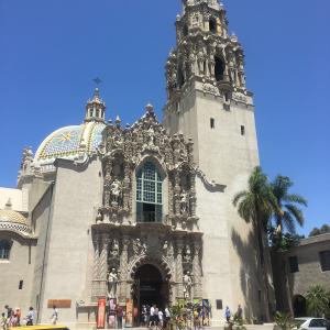 Cathedral, Balboa Park, San Diego, California