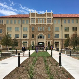 Honors Residence Hall, Texas Tech University East Elevation