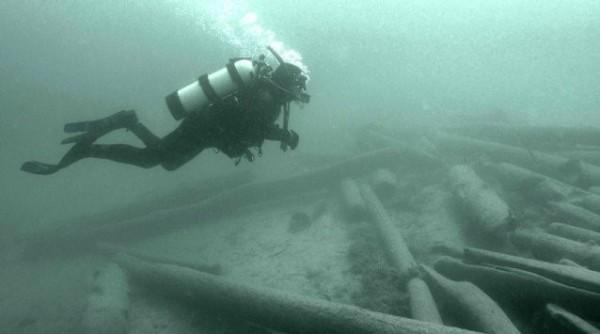 scuba for logs