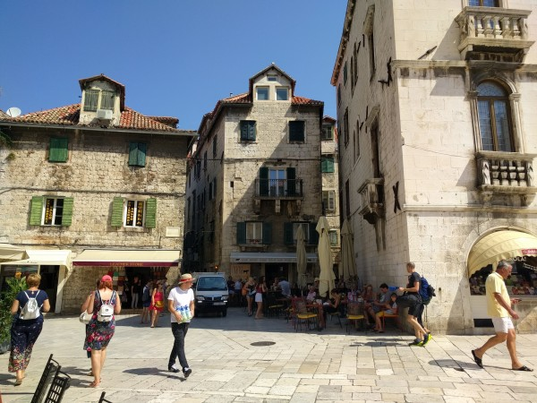 Architecture of Split, Croatia
