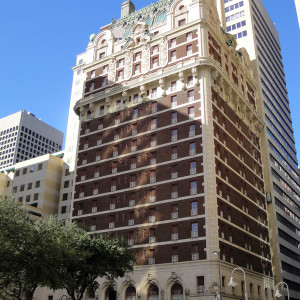 MMA's Dallas office is located in the Adolphus Tower attached to the historic Alophus Hotel