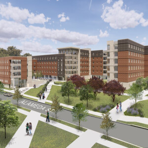 The New Residence Hall Project at Tennessee State University.